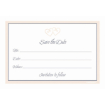 8 Save the Date Cards 8.7 x 12.5 cm