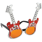Fun Shades Rockguitar Plastic 13.4 x 14 cm