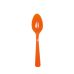 10 Spoons Orange Peel Plastic 14.7 cm