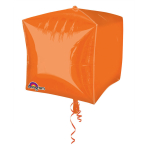 Cubez Orange Foil Balloon G20 Bulk 38 x 38 cm