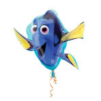 "SuperShape ""Finding Dory Shape"" Foil Balloon P38 packed, 76 x 76 cm"