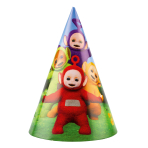 8 Party hats Teletubbies