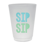 8 Cups Shimmering Party Plastic 414ml