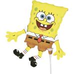 Mini Shape SpongeBob Foil Balloon A30 Bulk