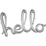 Script Phrase `Hello` Silver