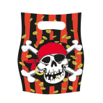 6 Party Bags Jolly Roger