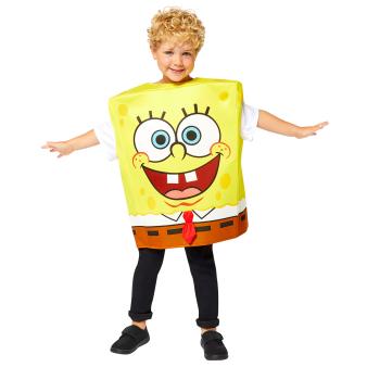 Child Costume Spongebob Boys Age 8-12 Years