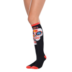Socks Sugar Skull Knee High One Size
