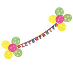 Decoration Kit Ballon Party