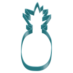 Cookie Cutter Pineapple Pineapple Vibes Plastic 5.8 x 12.2 c