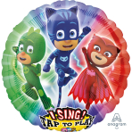 "Sing-A-Tune ""PJ Masks"" Foil Balloon  , P75, packed, 71 x 71cm"