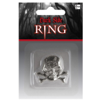 Costume Accessory Ring Skull Gothic One Size