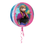 Orbz Frozen Foil Balloon G40 Packaged 38 x 40 cm