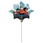 """Mini Shape """"Incredibles 2"""" Foil Balloon, A30, air filled"""