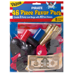Value Favour Pack Pirates Treasure 48 Pieces