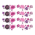 Confetti 18 Sparkling Celebration - Pink 34 g