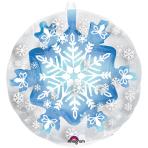"Insider""Snowflake"" Foil Balloon P60, packed, 60x60 cm"