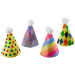 Fabric Cone Hat Assorted