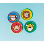12 Ball Puzzles Animals Plastic 5.6 x 5.6 cm