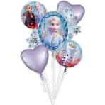 Bouquet Frozen 2 Foil Balloon P75 packaged