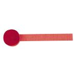 Crepe Streamer Apple Red 4.4  cmx 24.7 m
