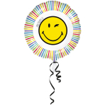 Standard Foil Balloon Smileyworld, S60 packaged