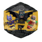"SuperShape ""Lego Batman"" Foil Balloon, P38, packed, 48 x 73cm"