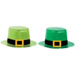 8 Mini Hats St. Patrick's Day 12 x 10 cm