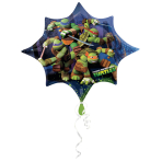 SuperShape Teenage Mutant Ninja Turtles Foil Balloon P38 Packaged 88 x 73 cm