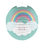 Lantern Rainbow & Cloud Paper 25 cm