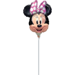 Mini Minnie Mouse Forever Foil Balloon A30 Air-filled