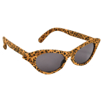 Fun Shades Vintage Cheetah Plastic / Fabric 15.3 x 4 cm