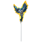 Mini Shape Batman Action Foil Balloon A30 Air Filled