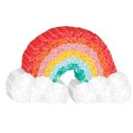 Mini Decoration Retro Rainbow Paper 11.4 x 19 cm