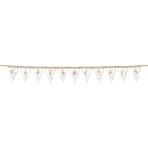Pennant Banner Rustic Wedding Gifts & Cards 240 cm