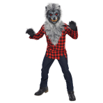 Child Costume Hungry Howler Age 8 - 10 Years