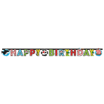 Letterbanner Pirate 180x15cm