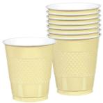 20 Cups Vanilla Creme Plastic 355 ml