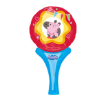 "Inflate-A-Fun ""Peppa Pig"" Foil Balloon A05 packed 15 x 30cm"