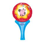 "Inflate-A-Fun ""Peppa Pig"" Foil Balloon A05 packed 15 x 30cm"