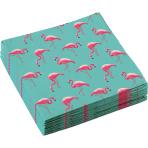 20 Napkins Flamingo Paradise 33 x 33 cm