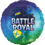 Standard Battle Royal Foil Balloon S40 packaged