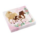 20 Napkins Beautiful Horses 33 x 33 cm