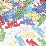 Confetti Happy Birthday Metallic 14 g
