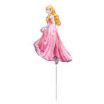 Mini Shape Sleeping Beauty Foil Balloon A30 Bulk