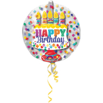 "Insider ""Happy Birthday"" Foil Balloon, P60,  packed, 60 x 60cm"
