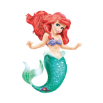 AirWalker Little Mermaid Foil Balloon P93 Packaged 96 x 134 cm