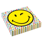 16 Lunch Napkins Smileyworld 33 x 33 cm