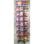 Spinner Stand Latex Balloons Let's Party 60 x 190 cm