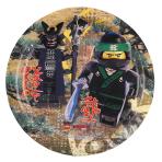 "8 Plates round""Lego Ninjago"", 23 cm"